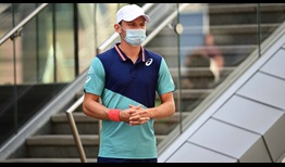 Goffin WS Open 2020 Tuesday Mask
