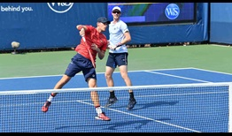 Skupski Murray WS Open 2020 Tuesday Doubles