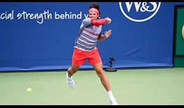 Raonic WS Open 2020 Friday Forehand