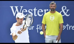 Djokovic Ivanisevic WS Open 2020 Friday Practice