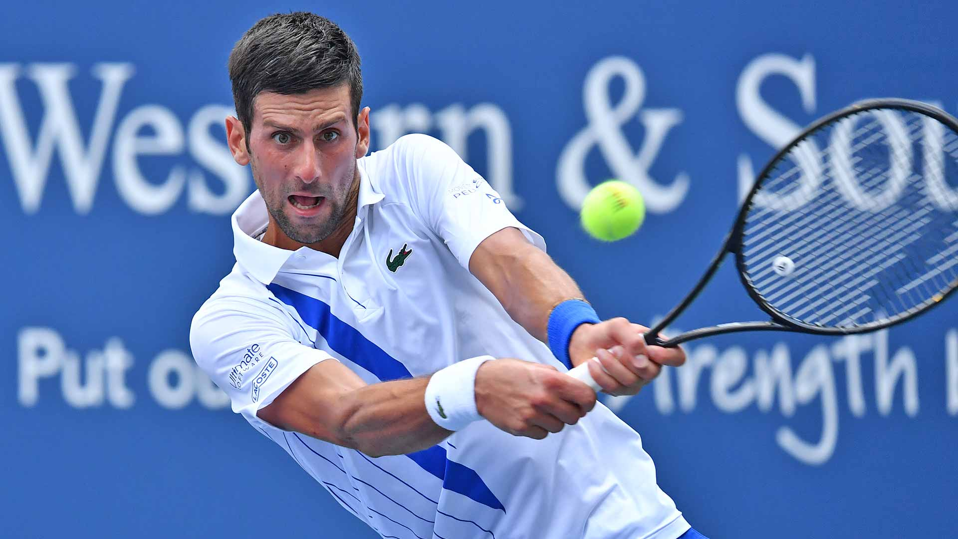 Novak Djokovic Survives Roberto Bautista Agut Scare To Take Perfect Record Into W S Open Final Glbnews Com