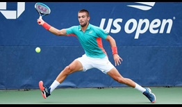 Coric US Open 2020 Day 1 Stretch