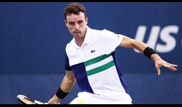 Bautista Agut US Open 2020 Day 2 Forehand