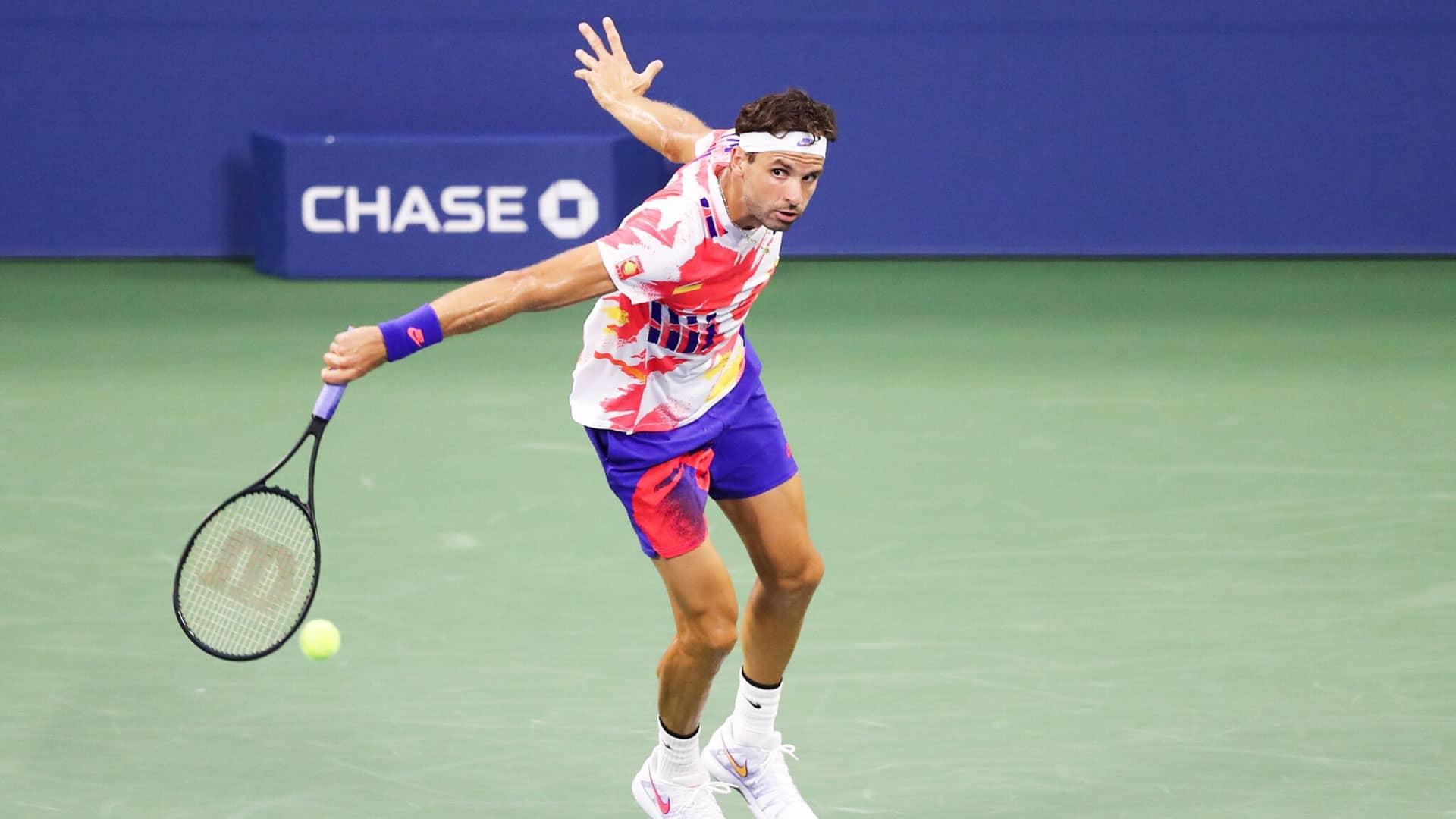 Dimitrov <a href='/en/tournaments/us-open/560/overview'>US Open</a> 2020 Day 2
