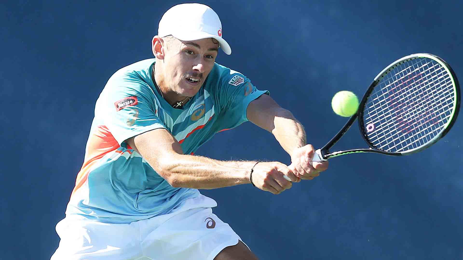 <a href='/en/players/alex-de-minaur/dh58/overview'>Alex de Minaur</a> is through to the <a href='/en/tournaments/us-open/560/overview'>US Open</a> fourth round for the second straight year.