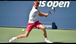 Zverev US Open 2020 Day 7 Backhand