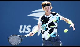 Andrey Rublev seeks his first Grand Slam semi-final when he meets Daniil Medvedev on Wednesday at the US Open.