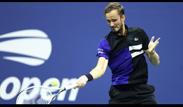 Daniil Medvedev has won 10 of his past 11 matches at the US Open.
