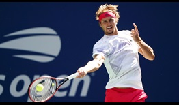 Alexander Zverev advances to his second consecutive Grand Slam semi-final at the US Open.
