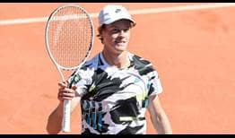 Jannik Sinner is making his debut at the Generali Open in Kitzbühel this week.