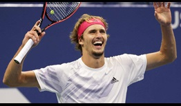 Alexander Zverev hits 71 winners in a five-set win against Pablo Carreno Busta to reach the US Open final.