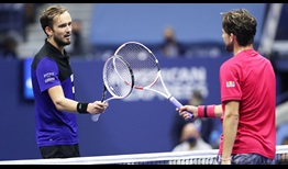 Daniil Medvedev drops to 1-3 in his ATP Head2Head series with Dominic Thiem after losing their US Open semi-final.
