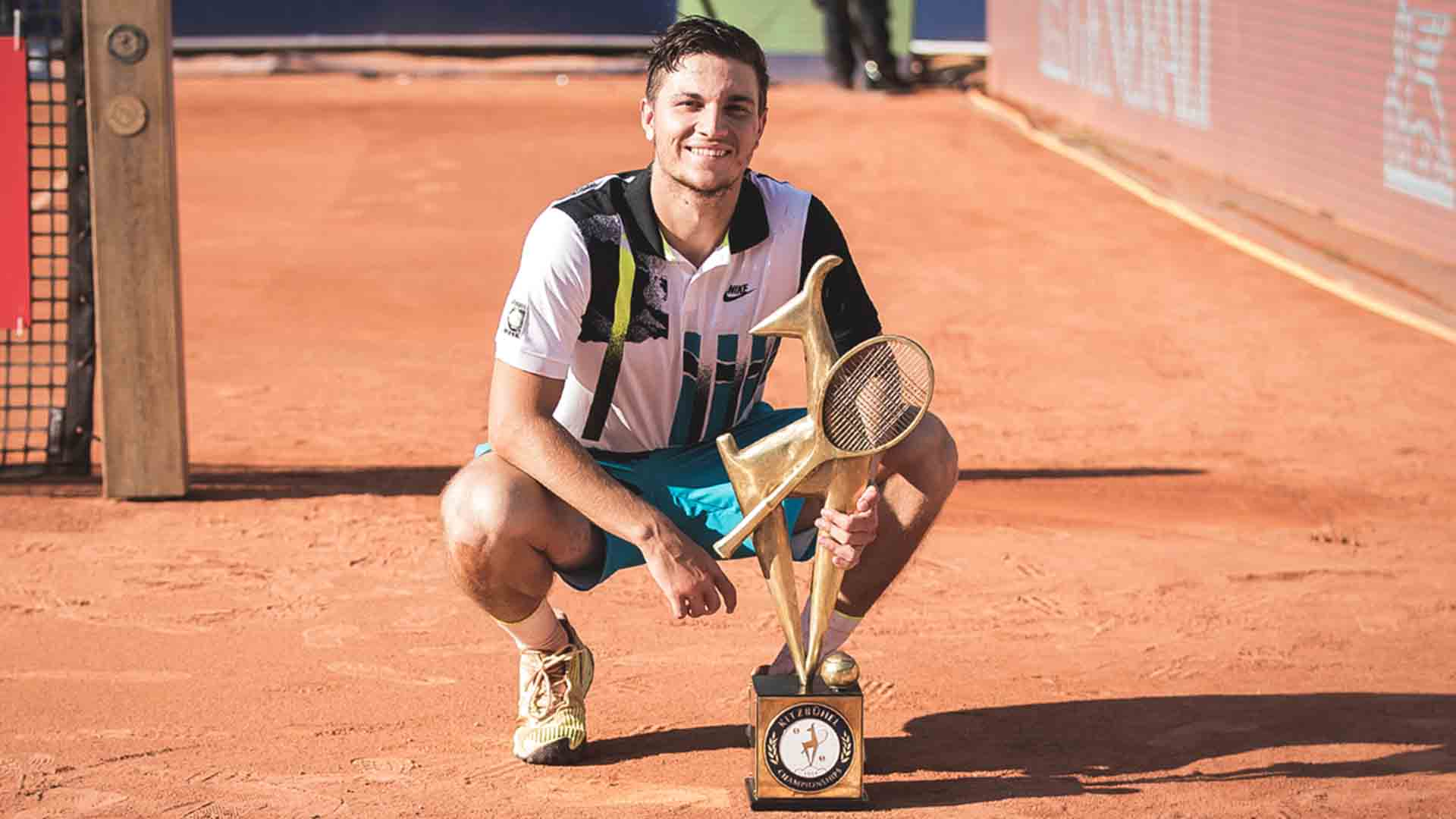 Miomir Kecmanovic is the second #NextGenATP player to capture an ATP Tour title this year.