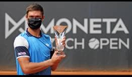 Kamil Majchrzak is the champion in Prostejov, claiming his third ATP Challenger Tour title.