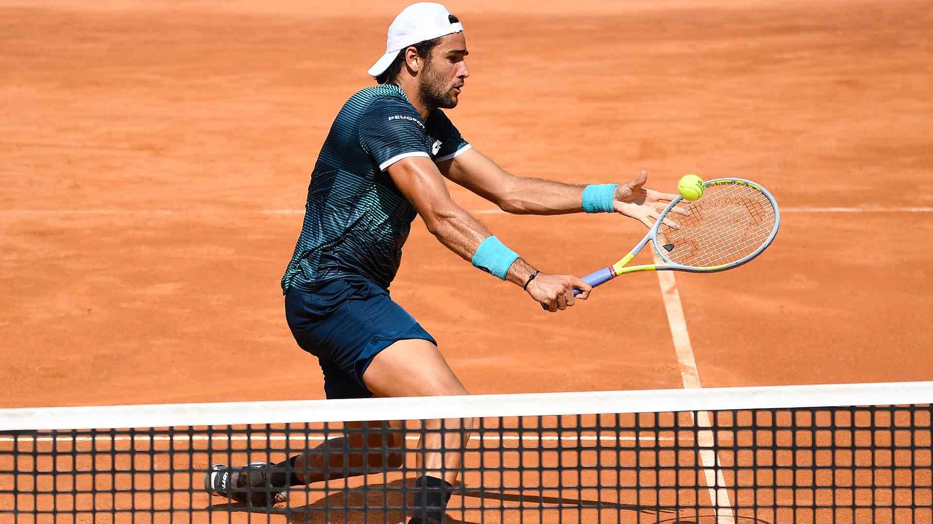 Berrettini Digs Deep To Reach Rome Quarter Finals