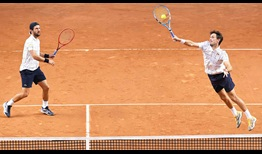 Melzer Roger Vasselin Rome 2020 Saturday Volley
