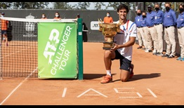 Carlos Taberner is the champion in Iasi, Romania, claiming his maiden ATP Challenger Tour title.