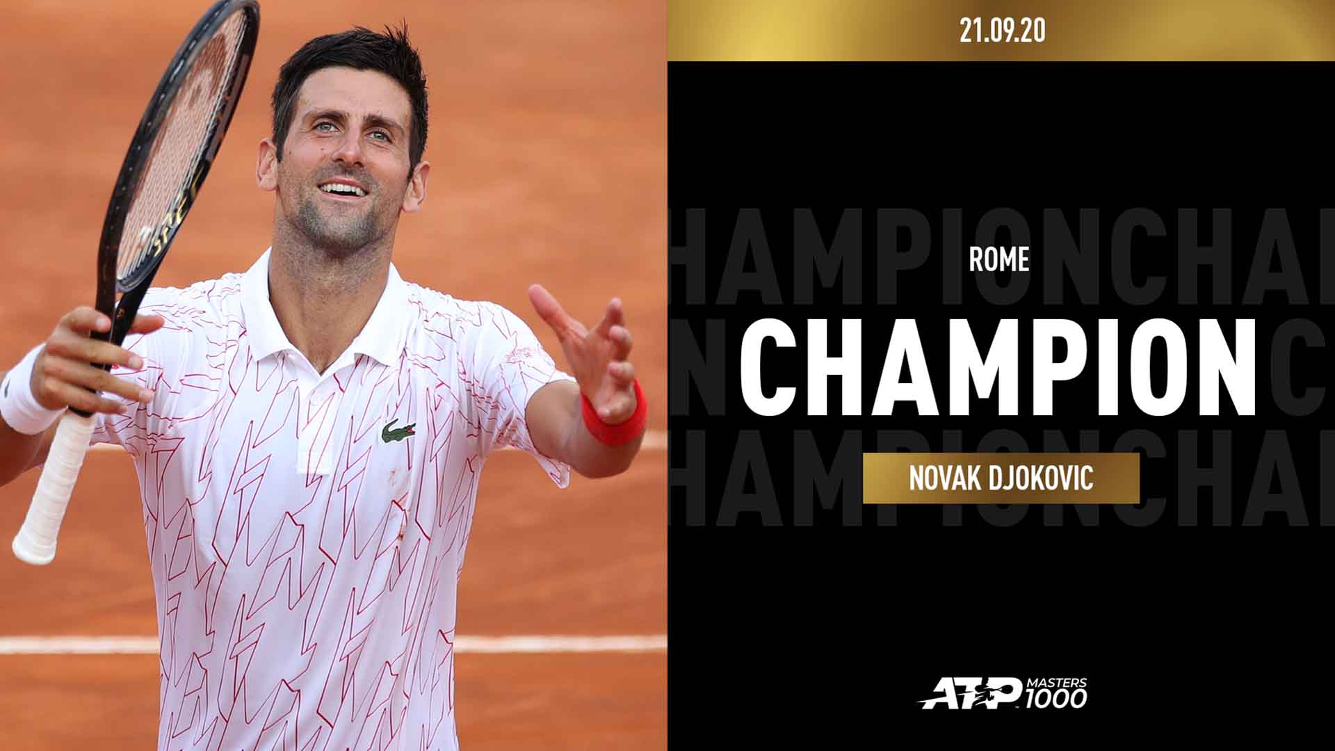 Novak Djokovic Makes Masters 1000 History Clinches Fifth Rome Crown Theunionjournal The Union Journal