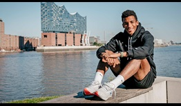 Felix Auger-Aliassime is making his debut in Hamburg this week.