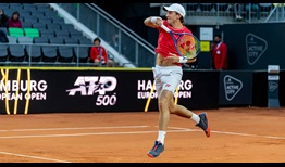 Casper Ruud beats Fabio Fognini for a second time at the Hamburg European Open on Thursday.
