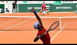 Djokovic Thiem Roland Garros 2020 Practice Serve