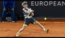 Andrey Rublev owns a 5-2 record in ATP Tour finals.