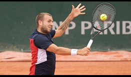 Evans Roland Garros 2020 Day 1 Volley