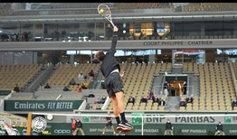 Thiem Roland Garros 2020 Day 6 Serve