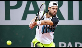 Khachanov Roland Garros 2020 Day 7 Backhand