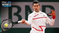 Through his first five matches at Roland Garros, Novak Djokovic has not faced a break point in his opening two service games of any match.