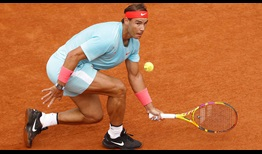Nadal Roland Garros 2020 Day 13 Volley
