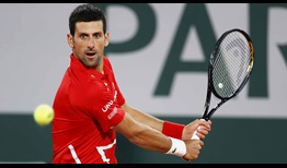 Djokovic Roland Garros 2020 Day 13 Backhand