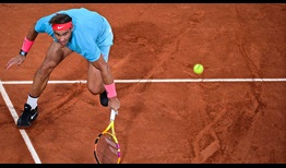 Rafael Nadal chased down a barrage of drop shots from Novak Djokovic in the Roland Garros final.