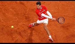 Djokovic Roland Garros 2020 Final Backhand