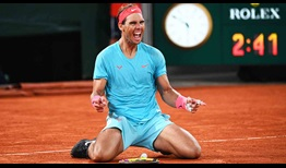 Nadal Roland Garros 2020 Final Celebration