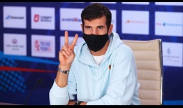 Karen Khachanov is attempting to win his second ATP Tour title on Russian soil.