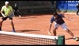 Bolelli Gonzalez Sardinia 2020 Doubles Thursday
