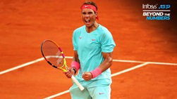 Rafael Nadal held 84.7 per cent of his service games that reached deuce during the 2019 ATP Tour season.