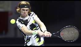 Andrey Rublev owns a 33-7 record this year.