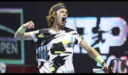 Andrey Rublev owns a 34-7 record in 2020.