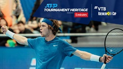Andrey Rublev became the ninth Russian man to win the VTB Kremlin Cup singles title in 2019.
