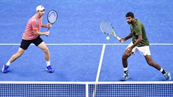 Rohan Bopanna (right) and Matwe Middelkoop (left) are making their team debut at the European Open.