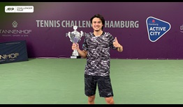 Taro Daniel is the champion in Hamburg, claiming his second ATP Challenger Tour title of 2020.