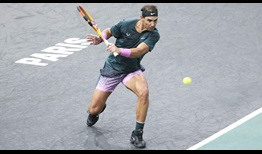 Nadal Paris 2020 Wednesday Backhand Slice