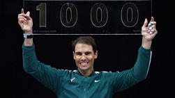 Rafael Nadal owns a 1,000-201 tour-level record.