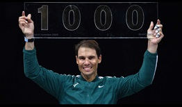 Nadal Paris 2020 Wednesday 1000 Win
