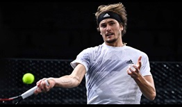 Zverev Paris 2020 Sunday Forehand