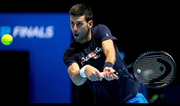 Djokovic Nitto ATP Finals 2020 Preview Backhand