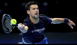 Djokovic Nitto ATP Finals 2020 Friday Forehand
