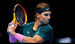Nadal Nitto ATP Finals Day 1 Backhand